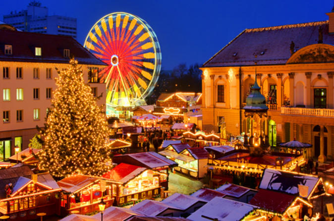 Leipzig, Dresden & Plauen 4-Day Christmas Tour from Frankfurt