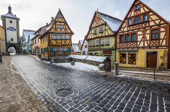 Frankfurt to Munich 3-Day Tour with Rothenburg, Neuschwanstein