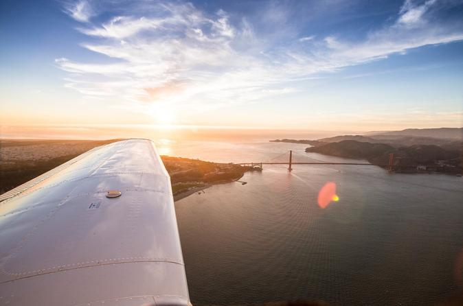 U-Fly SkyTour of San Francisco and Golden Gate Bridge from San Carlos