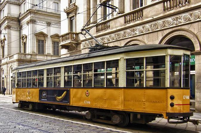 The Last Supper Guided Visit plus Milan City Center Tour by Vintage Tram