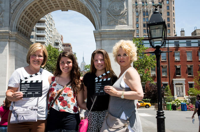 NYC TV and Movie Sites Tour with Audio Guide in French