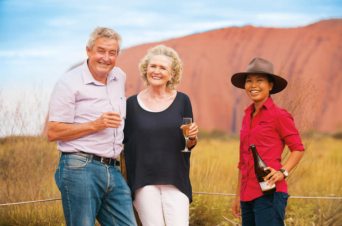 Uluru Base and Sunset Half Day Trip with Optional Outback Barbecue Dinner image