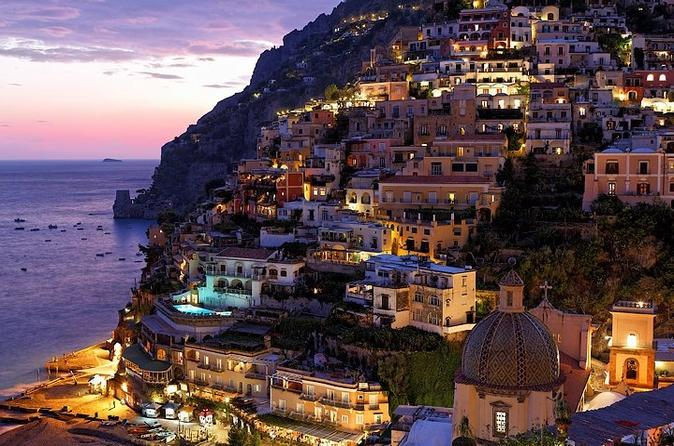 Rome to Amalfi Coast Positano and Sorrento: Private Day trip