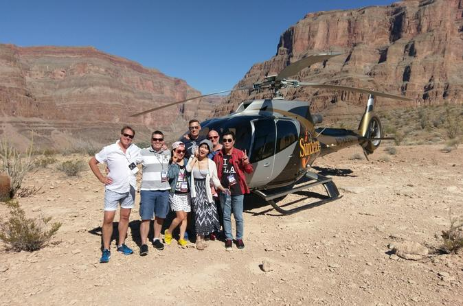 Las Vegas to Grand Canyon Helicopter Tour with Champagne