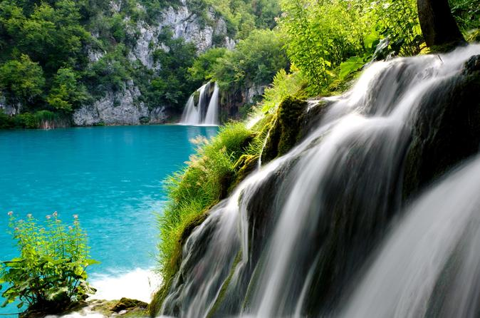Plitvice lakes full day guided tour from Zagreb