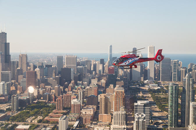Chicago Helicopter Tour Daytime Experience