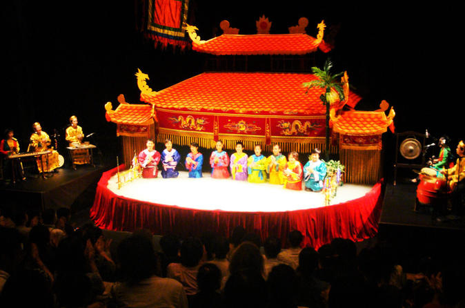 Water puppet show Tour and Dinner