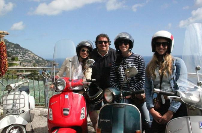 Sorrento Vespa Tour to Positano and Amalfi