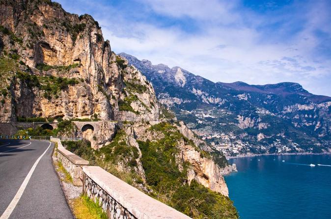 Scenic Amalfi Coast Drive from Sorrento