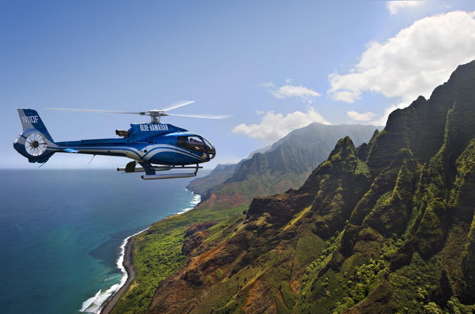 Full-Day Air and Land Volcano Adventure from Oahu