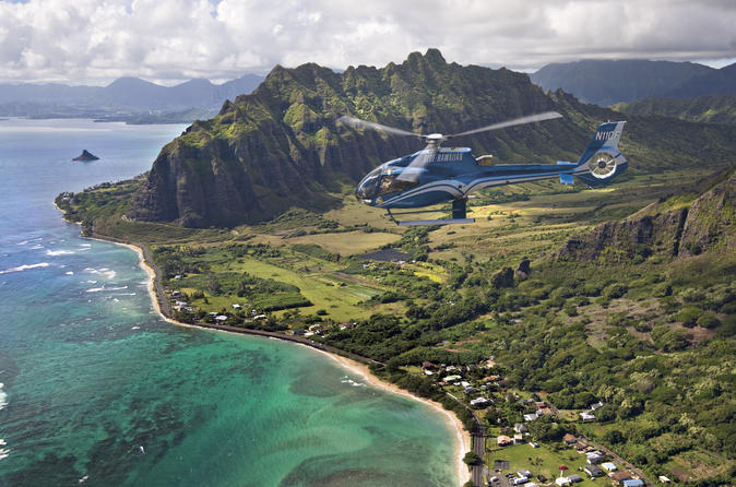 Complete Island Oahu ECO Helicopter Tour