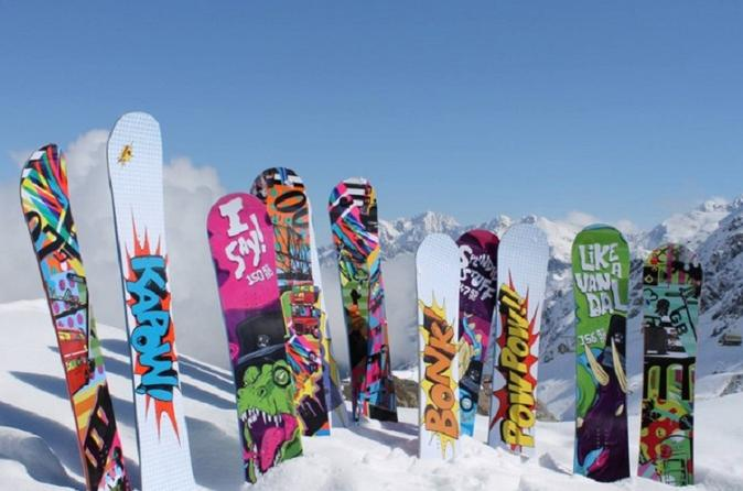 Aspen Performance Snowboard Rental Including Delivery