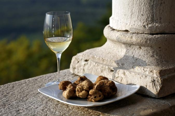 Flavours of Istria Tasting Experience from Rovinj