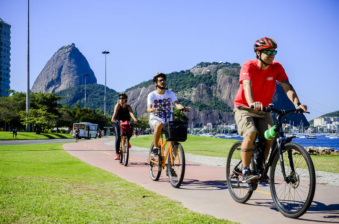 Bike Tour of Lapa Red Beach Urca and Botafogo