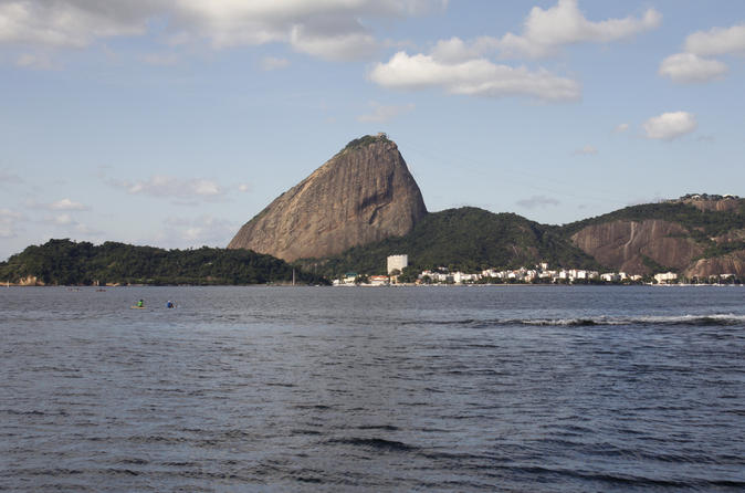 Rio de Janeiro Super Saver: Guanabara Bay Cruise with Barbecue Lunch and Christ The Redeemer by Train