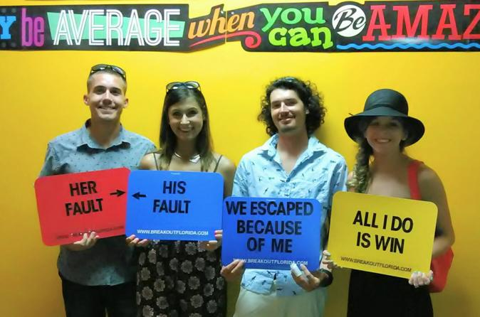 Red Light Zone Escape Room
