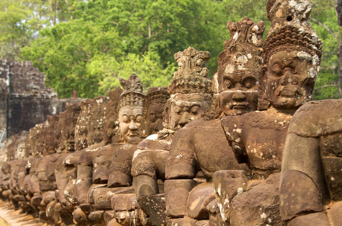 Angkor Wat Ancient Temples Private Sunset Tour from Siem Reap