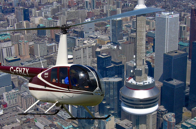 7Minute Helicopter Tour Over Toronto  Lonely Planet