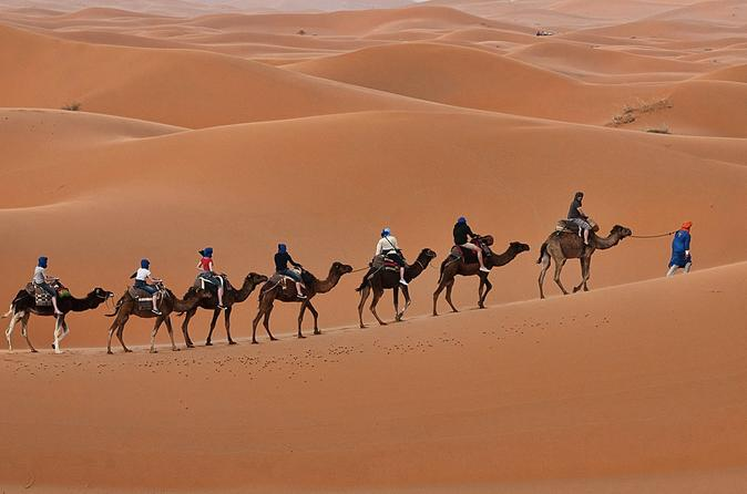 3 days 2 nights private desert tour from Fes to Marrakesh
