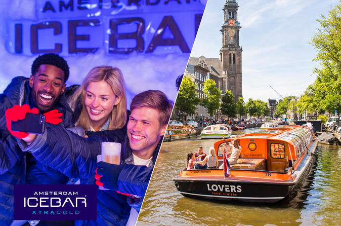 Amsterdam Super Saver: Xtracold Icebar and 1-hour Canal Cruise