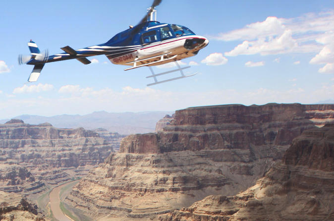 Grand Canyon Western Ranch Experience with Helicopter Tour and Optional Horseback Ride