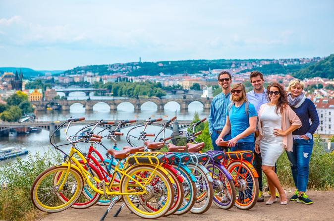 View Point Ride on Electric Bike from Prague