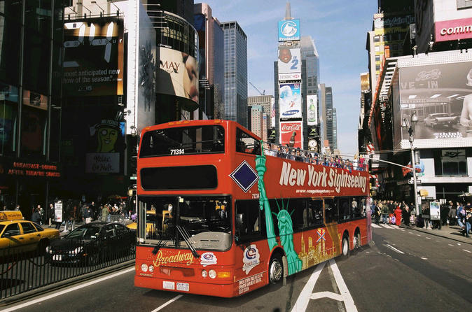 nyc double decker bus tours
