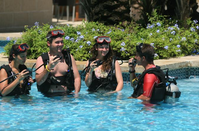 how to scuba dive instructions