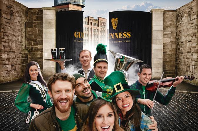 St. Patricks Day Festival at the Guinness Storehouse: Skip-the-Line Entrance Ticket