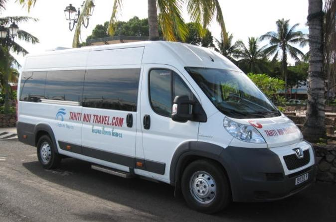 Shared Arrival Transfer: Papeete Airport to Hotel or Cruise Port