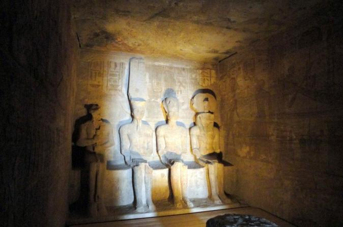 Aswan private day tours to  Abu Simbel day tour by vehicle from Aswan or Nile crusie