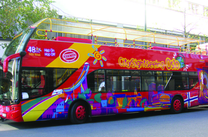 City Sightseeing Oslo Hop-On Hop-Off Tour