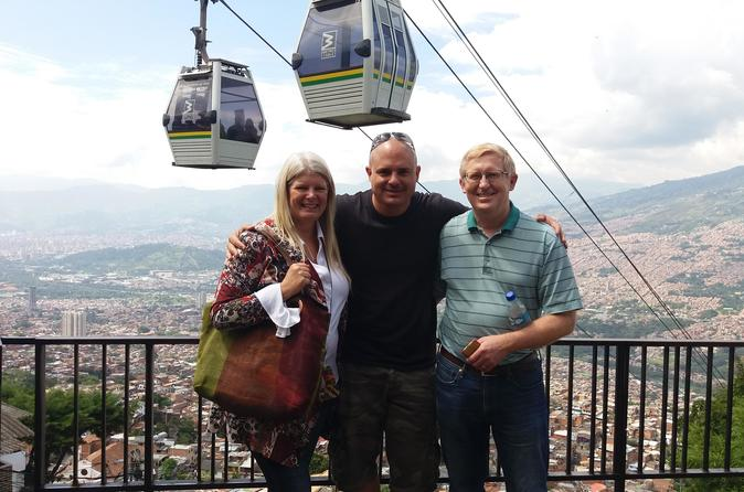 Medellin City Walking Tour plus Metro Cable Cars