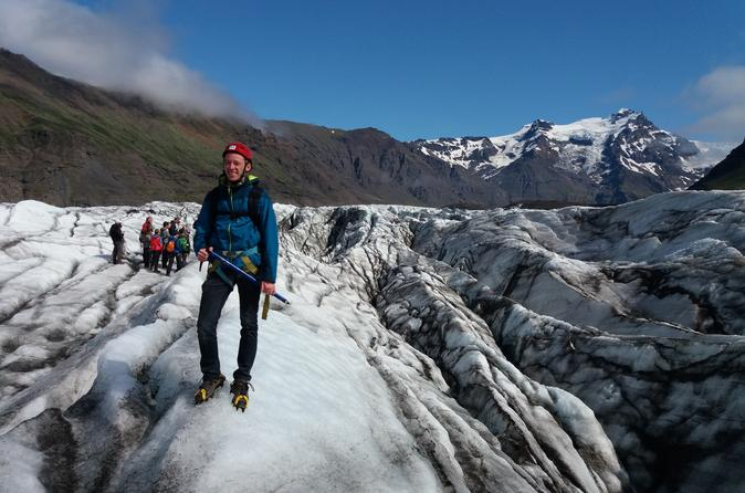Overnight South Coast and Glacier Lagoon Tour with Glacier Hike