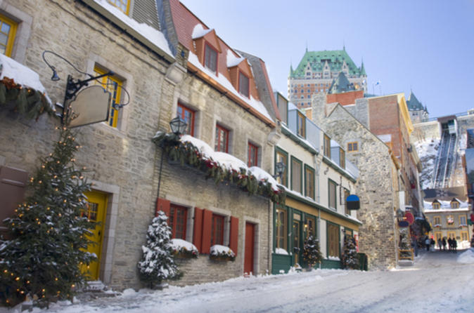 Christmas in Quebec City: Small-Group Gourmet Food Tour