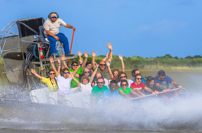 Florida Everglades Airboat Ride and Reptile Show