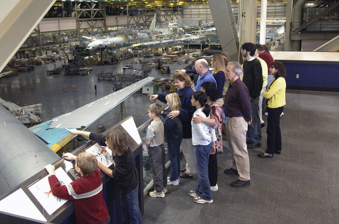 Roundtrip Transportation to Boeing Factory with Tour