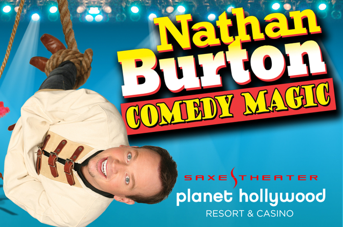 Nathan Burton Comedy Magic en el Planet Hollywood Resort and Casino