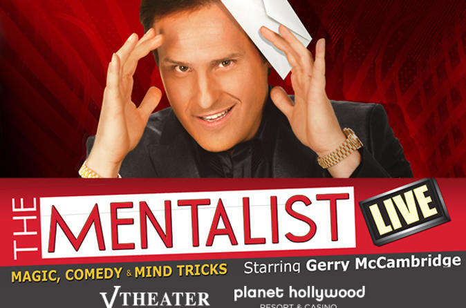 El Mentalist show en el Planet Hollywood Hotel and Casino