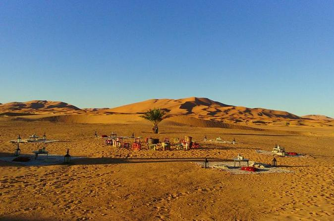 Luxury VIP Camp in Desert Dunes Erg Chebbi Merzouga