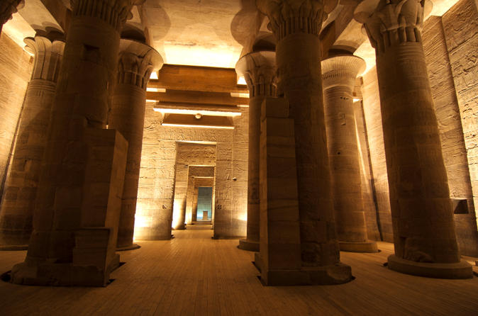 Philae Temple Sound and Light Show with Private Transport