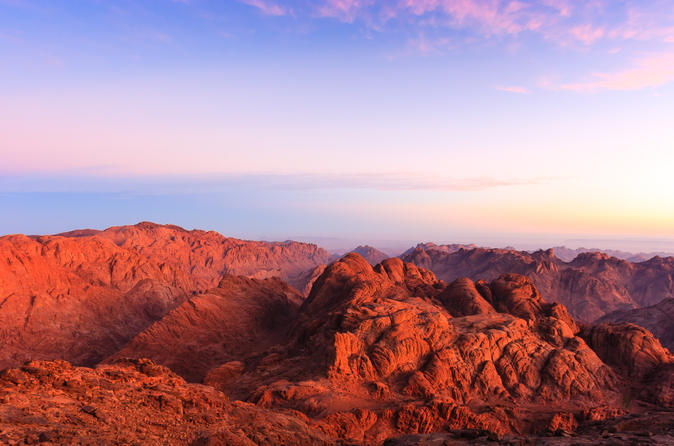 Mt Sinai, St Catherine's Monastery Private with Sunrise Hike