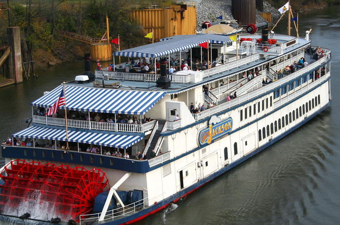 Nashville Showboat Lunch or Dinner Cruise on the General Jackson
