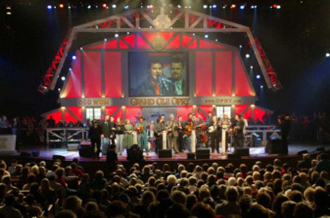 Ticket to Grand Ole Opry Radio Show with Transport