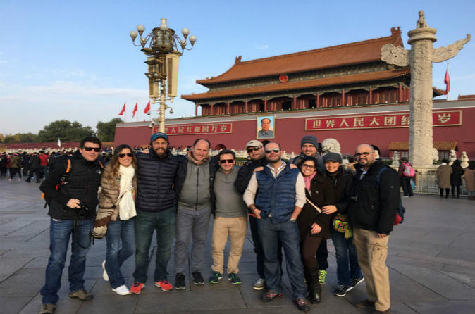 One day tour to visit Forbidden city by rickshaw sightseeing Hutong pray good luck at temple of heaven