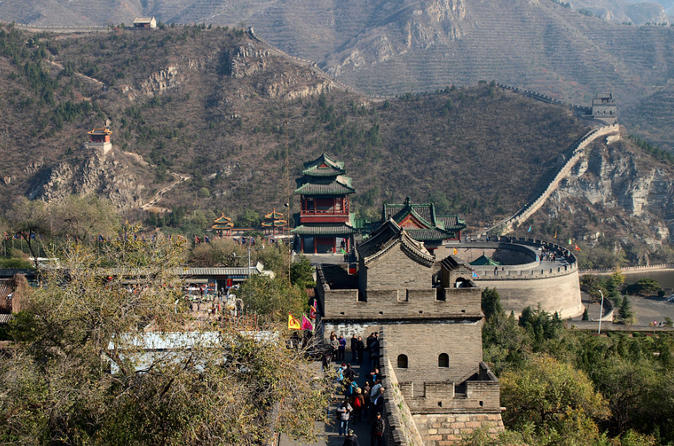 Private day trip to visit Three different famous sections Juyongguan Great Wall ancient Great wall and Badaling Great Wall