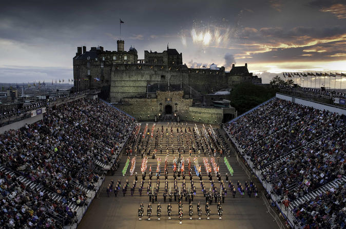 Shore Excursion: The Royal Military Tattoo 2018 Edinburgh City Tour Rosslyn Chapel Tour and Dinner