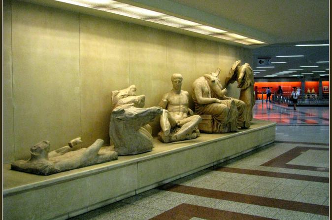 Athens Over and Under Small Group Walking Tour via Metro