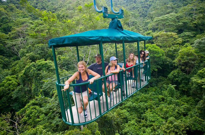 Small-Group Tour: Pacific Rainforest Aerial Tram and Nature Walk from Jaco