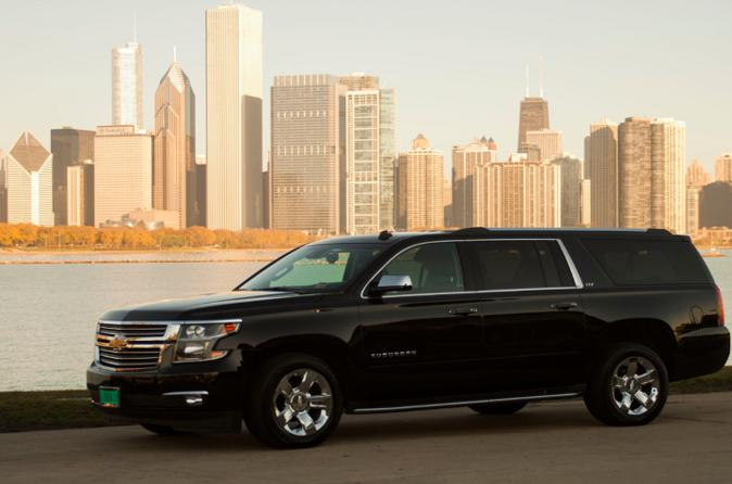 Chicago Airport Private Arrival Transfer by SUV